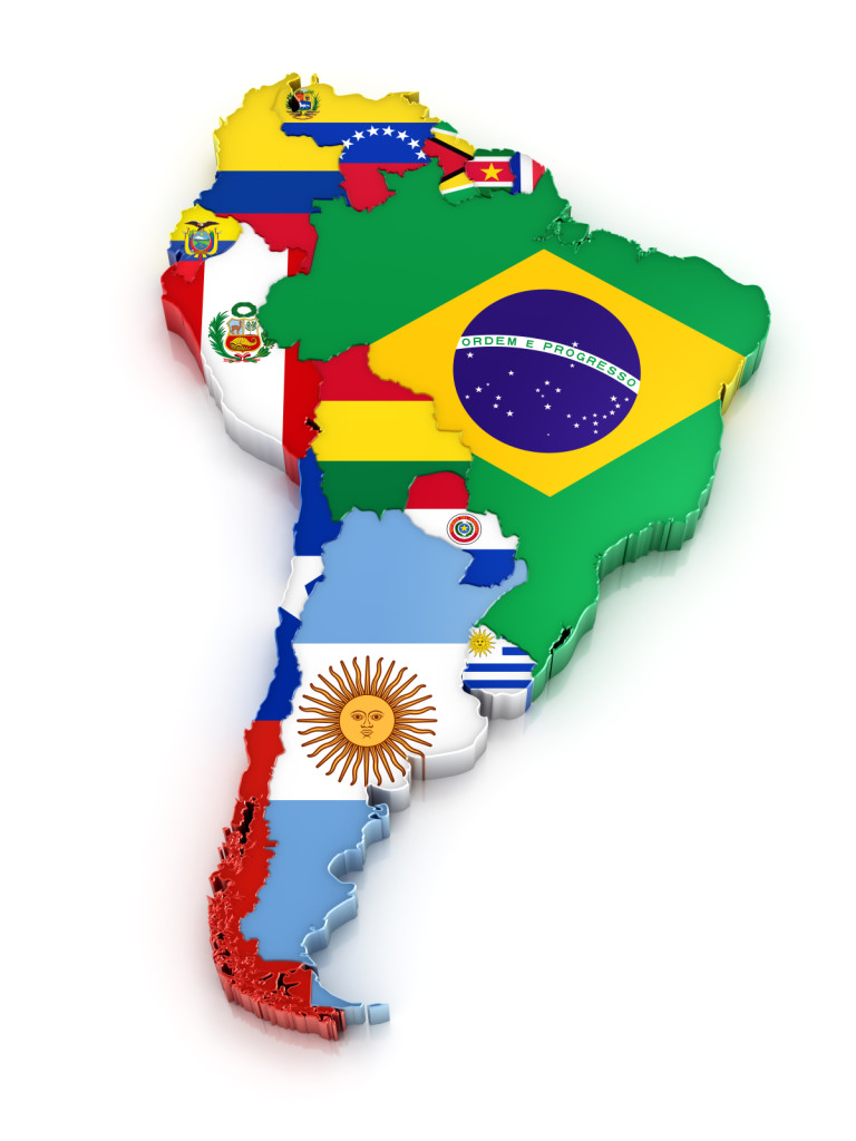 latin america brazil argentina chile mexico Mexico is the leader of inbound tourism in the area due to the flow of tourists from the usa, with brazil and argentina respectively in second and third place it is worth noticing the expressive growth in the number of trips to countries like chile and colombia, which presented a much higher cagr than the other fifteen major destinations of.